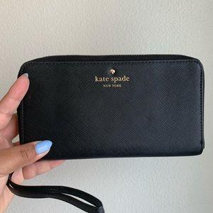 Large Black Kate Spade Wallet